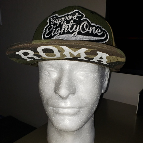 Rome Hells Angels Support Snapback Hat